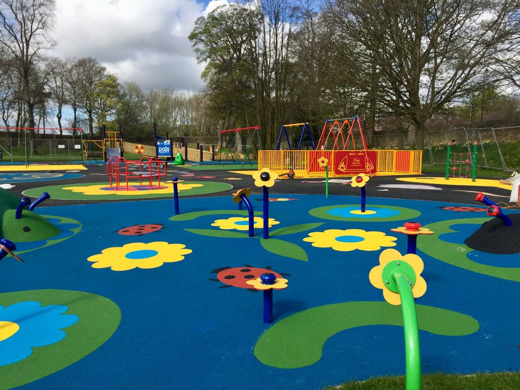 Safety Surfacing at Pittencrieff Park
