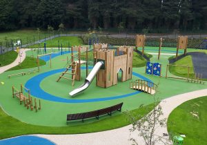 Mo Mowlam Play Park Stormont Estate