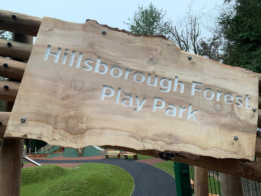 Hillsborough Forest Sign